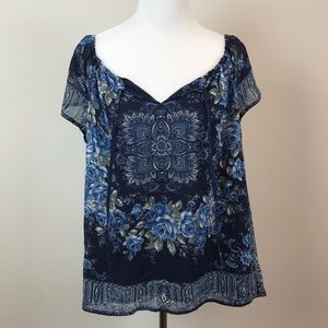 Joie Printed Blouse
